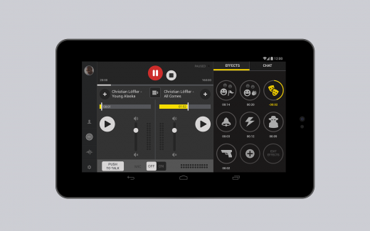 screenshot 4 520x325 Spreaker Studio: Podcast live from your Android device