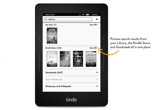showme enhancedsearch. V324154354  520x375 Amazon Kindle update lets you share books with the whole family
