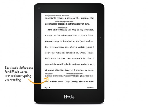 showme wordwise. V325437808  520x375 Amazon Kindle update lets you share books with the whole family