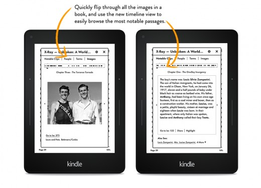 showme xray. V325437811  520x375 Amazon Kindle update lets you share books with the whole family