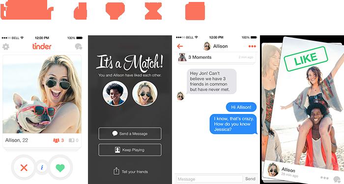 Frau mit dating-apps