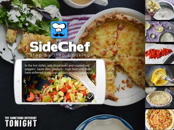 unnamed1 730x547 SideChef takes its Kickstarter funded cooking app to Android