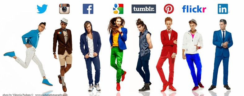picture of What would Twitter look like as a man? Fashion photographer personifies 8 social networks