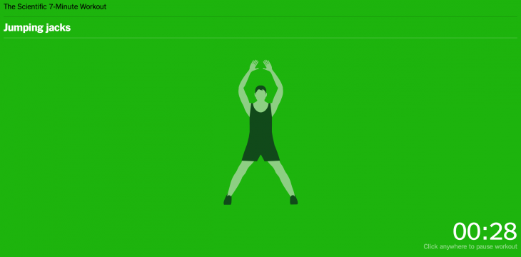 7 minute workout 730x360 65 of the best iOS apps launched in 2014