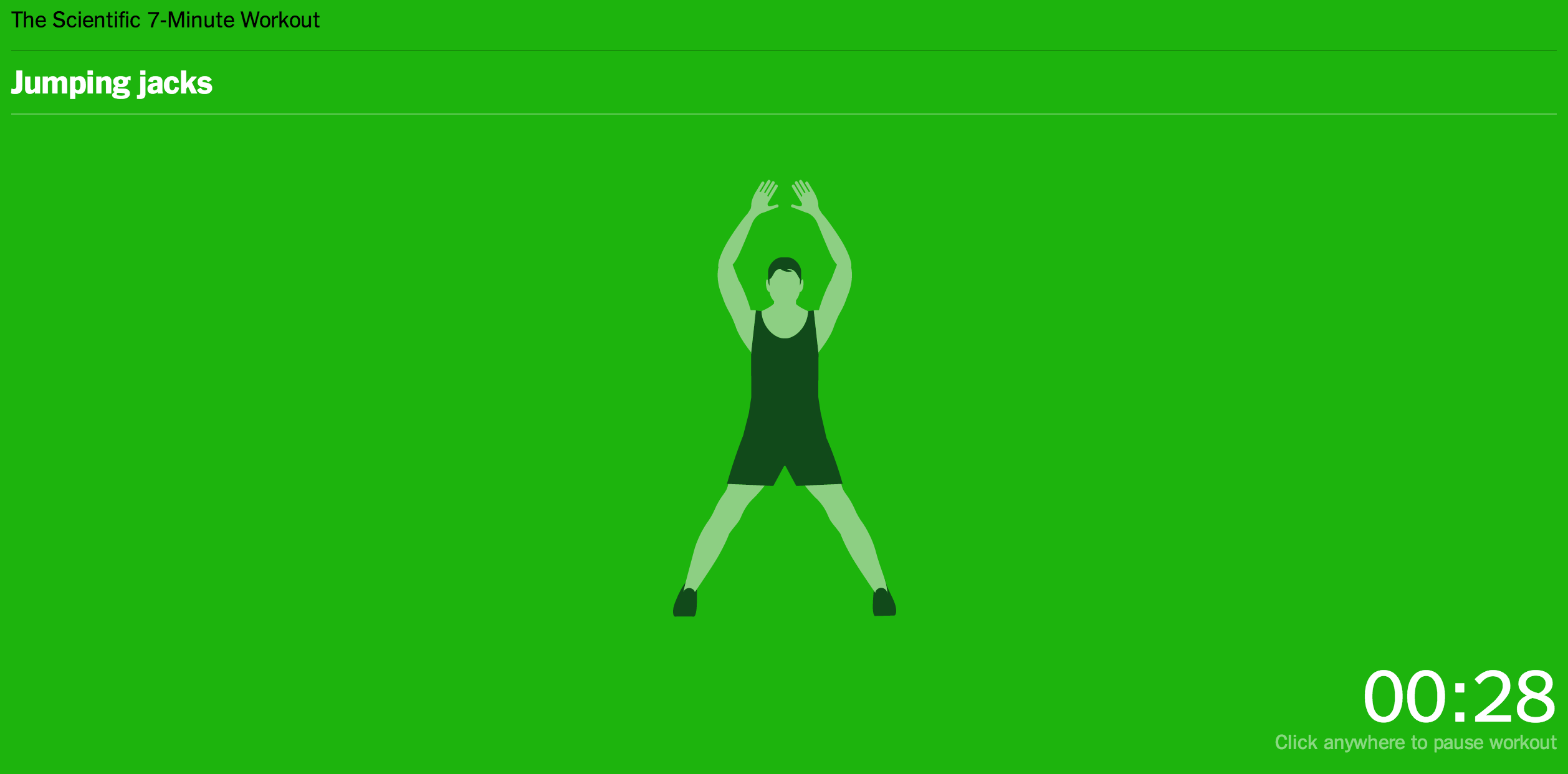 TNW's Apps of the Year: 7 Minute Workout Gets You Moving