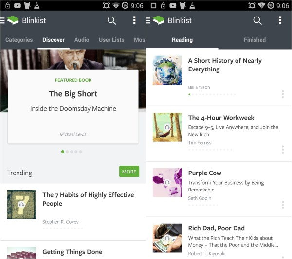 Blinkist 60 of the best Android apps launched in 2014