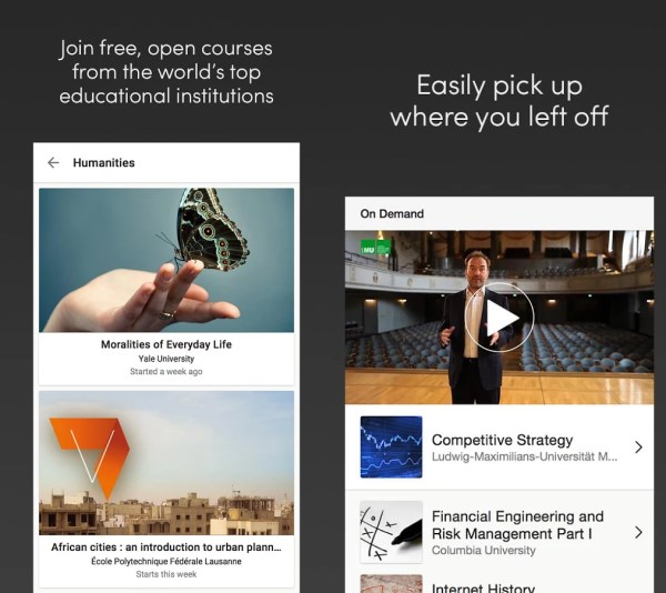 Coursera 60 of the best Android apps launched in 2014