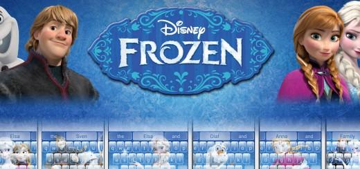 SwiftKey Frozen