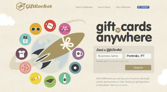 GiftRocket example Getting started with user experience design