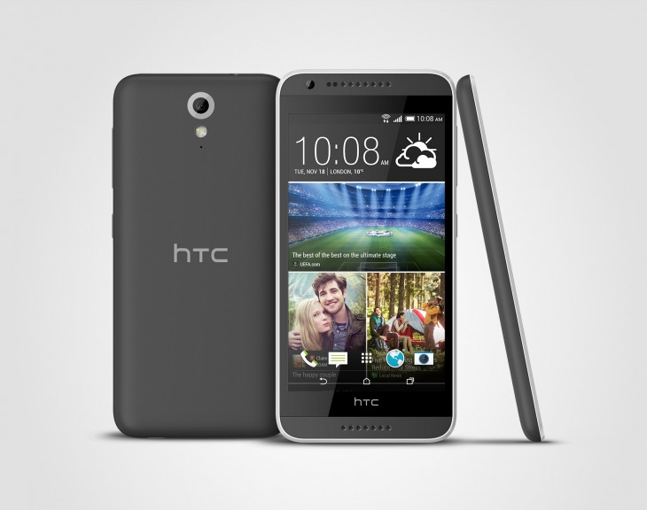 HTC Desire 620 3V TuxedoGray 730x576 Mid range HTC Desire 620 set to arrive in early 2015