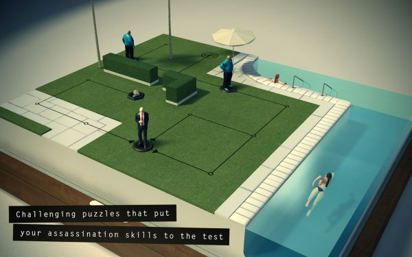 Hitman Go 60 of the best Android apps launched in 2014