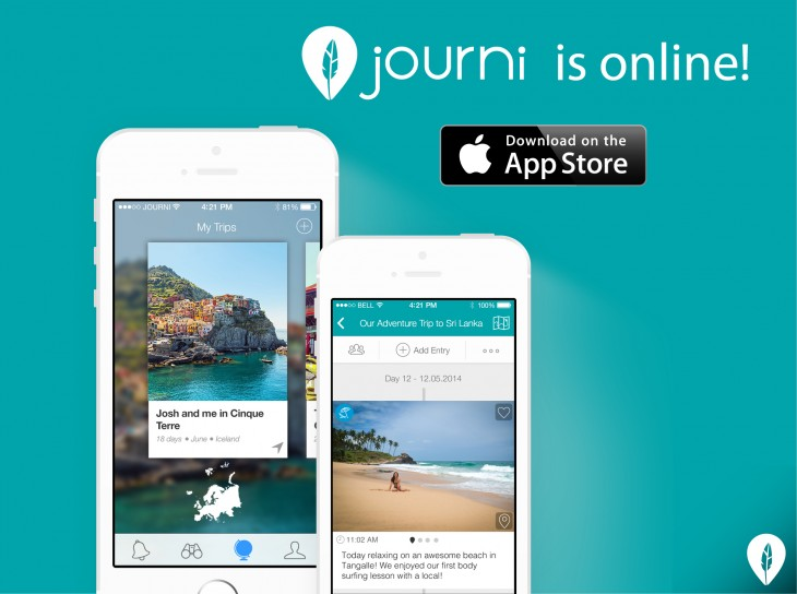 Journi Online 730x544 65 of the best iOS apps launched in 2014