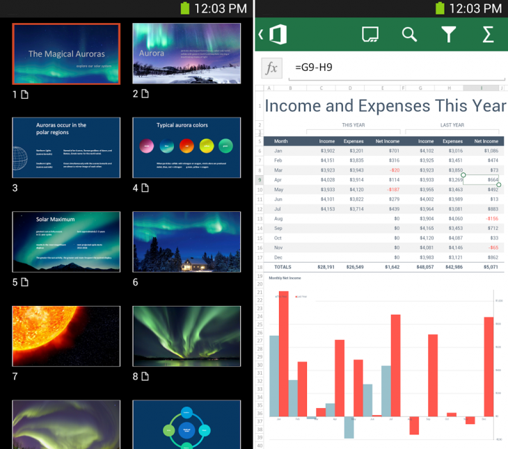 OfficeMobileAndroid 730x646 10 of the best iPhone and iPad apps from November 2014