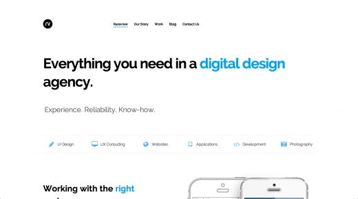 Screen Shot 2014 12 17 at 3.41.56 PM 520x289 10 Web design trends you can expect to see in 2015