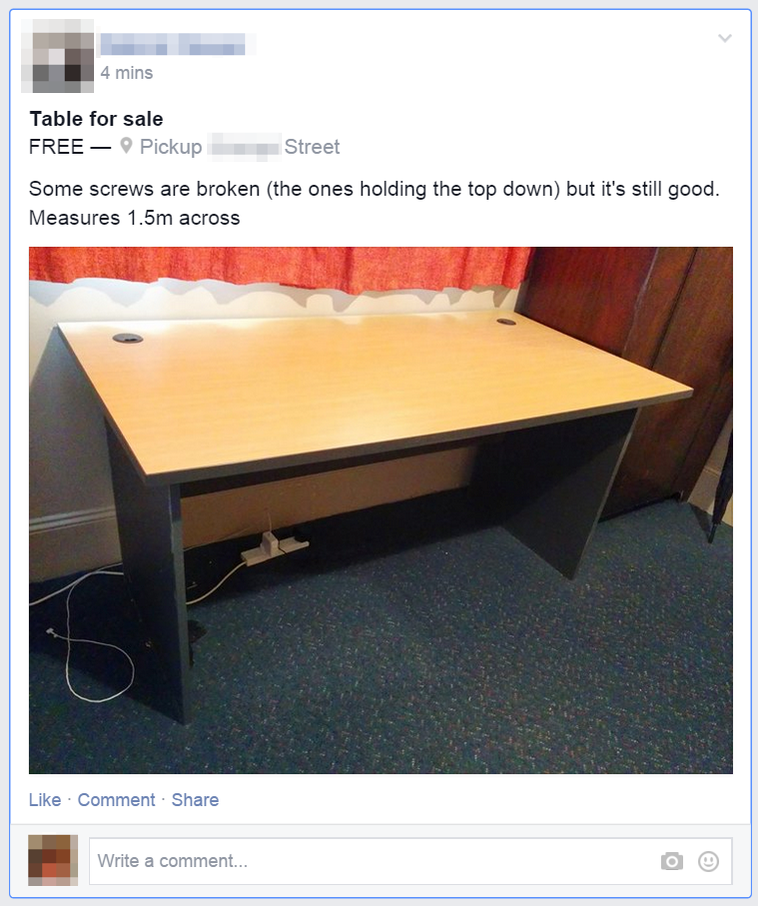 Screen Shot 2014 12 17 at 9 44 27 pm Facebook is testing an official way to sell goods in Groups