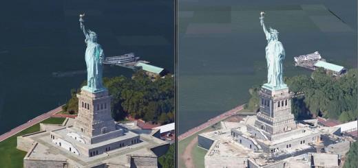 Statue Google Maps