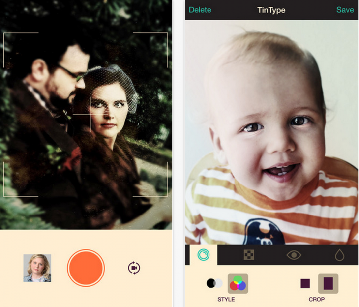 Tintype screen 730x624 23 of the best new photo and video apps launched in 2014