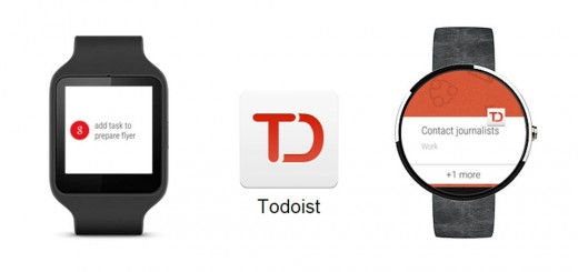 Todoist Android Wear