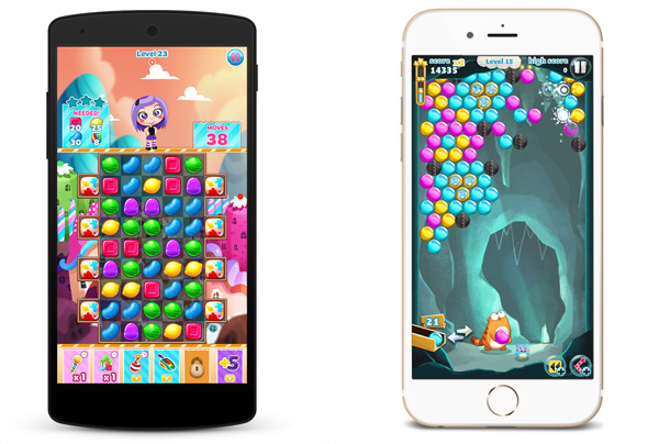 Viber Games screens Viber brings its sticker characters to life in mobile games