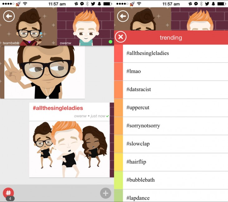 bebo 730x649 65 of the best iOS apps launched in 2014