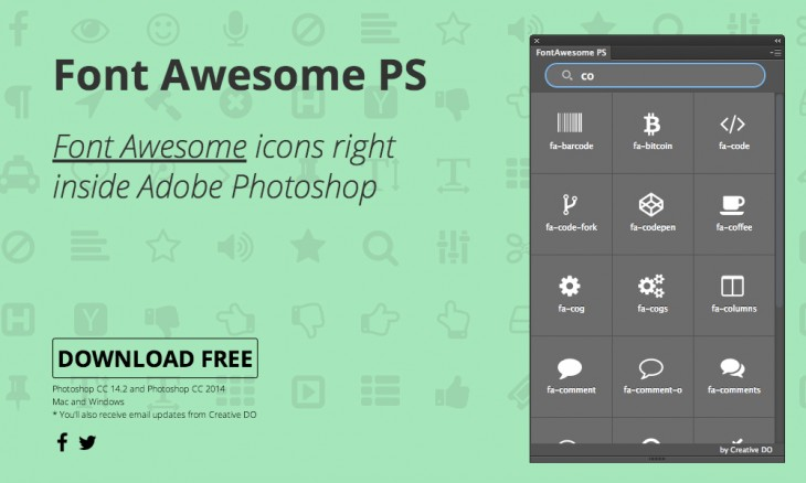 fontawesome 730x438 40 free resources every designer should know