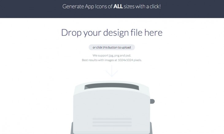 makeappicon 730x438 40 free resources every designer should know