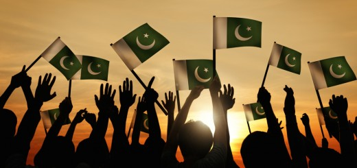 pakistan flags