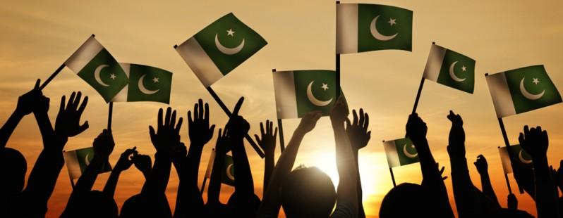 pakistan flags
