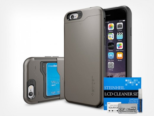 redesign Spigen Slim Armor CS for iPhone 6 MF2 520x390 Get 58% off the CS Slim Armor Bundle for iPhone 6 and 6 Plus