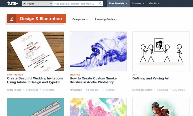 tut 730x438 40 free resources every designer should know