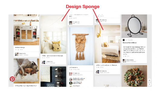 west elm designsponge pinterest 520x304 How to sell on social networks like the best e commerce brands in the world