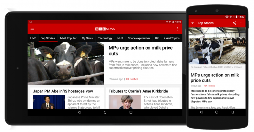 android 2 devices 03 top article 520x270 BBC News app for iOS and Android gets first major redesign since 2010