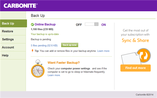 infocenter backuptab The complete guide to backing up your computer properly