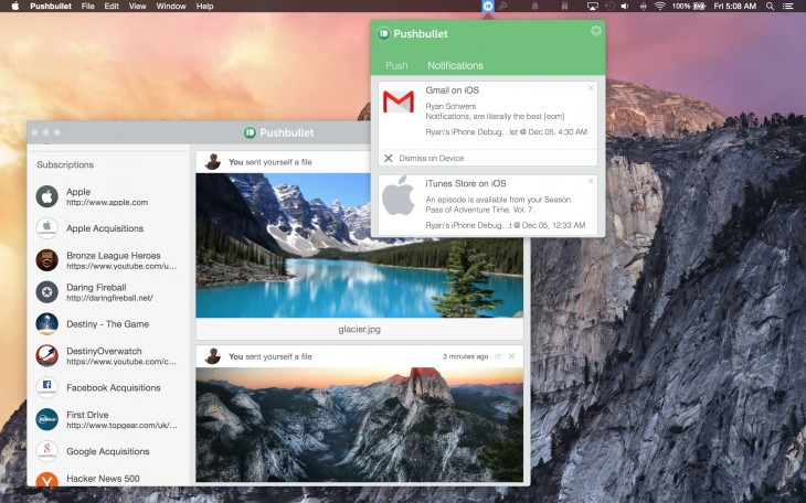 mirror mac 730x456 Pushbullet now lets you move files and mirror notifications between iPad, Mac and Safari too