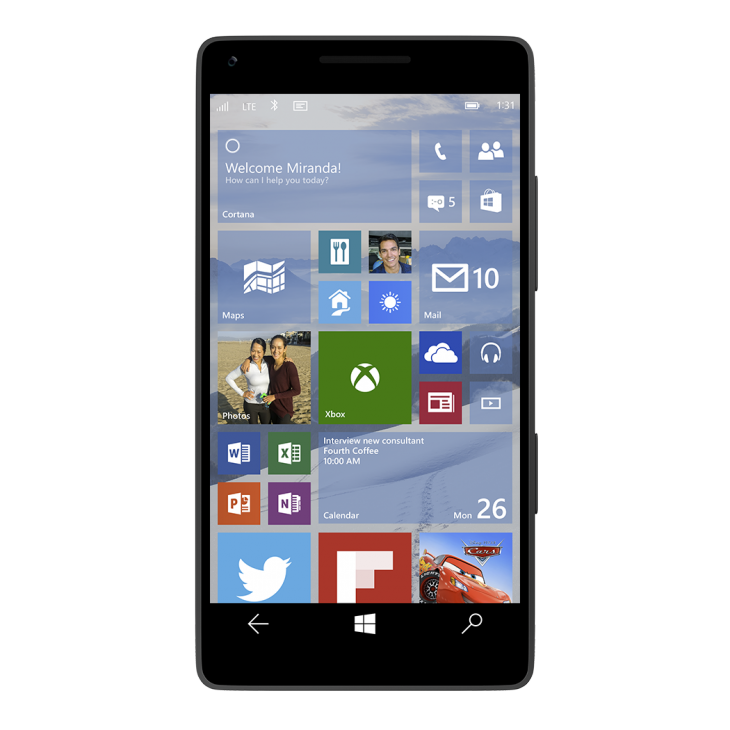 Microsoft Windows 10 para moviles