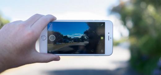 Snapchat on iPhone 6 Plus