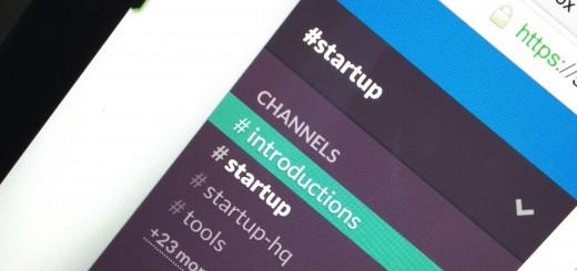 startup slack
