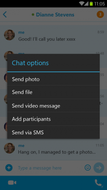 0209 skypeandroid1 220x391 Skype for Android now supports offline photo sharing