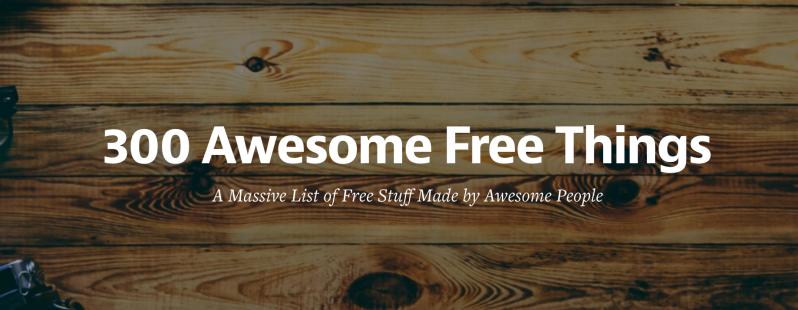 300 free things