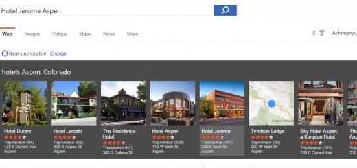 Bing hotels