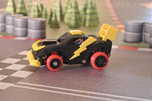 Car 3 520x348 3DRacers is real world Mario Kart with 3D printed mini cars