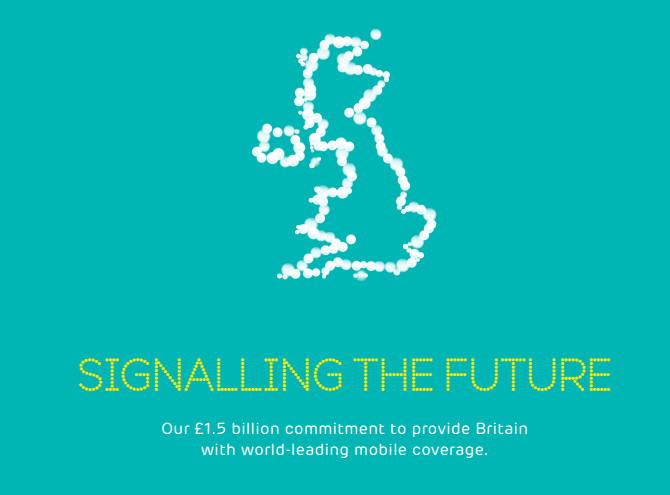 EE to spend £1.5bn bringing better mobile coverage and 'double speed' 4G to 90% of UK