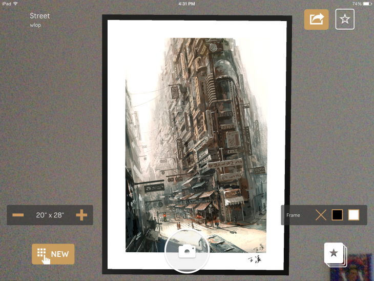 IMG 0038 730x548 Curioos augmented reality art market lets you view prospective purchases on your own wall