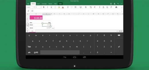 Microsoft launches an Android tablet keyboard for Excel users