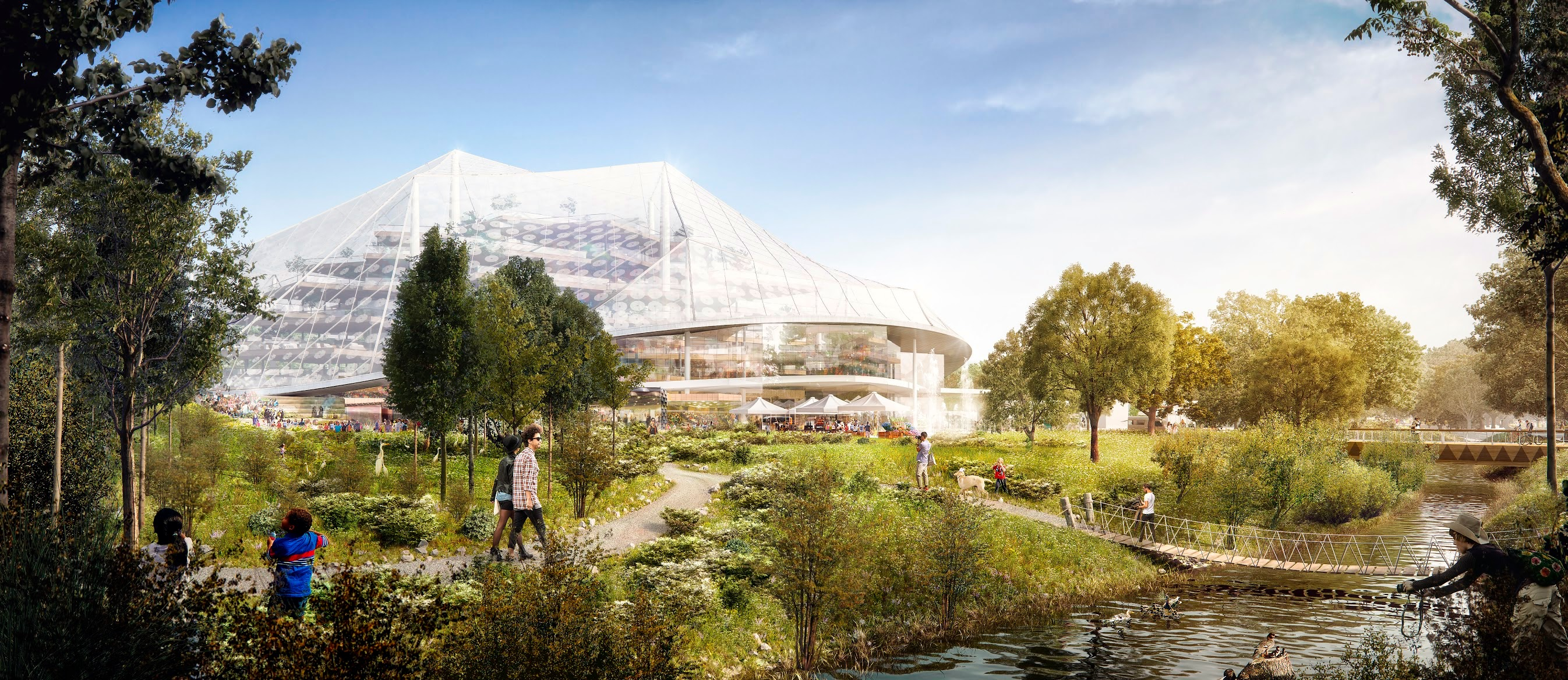 Check Out Renderings Of Google 39 S Proposed New Campus