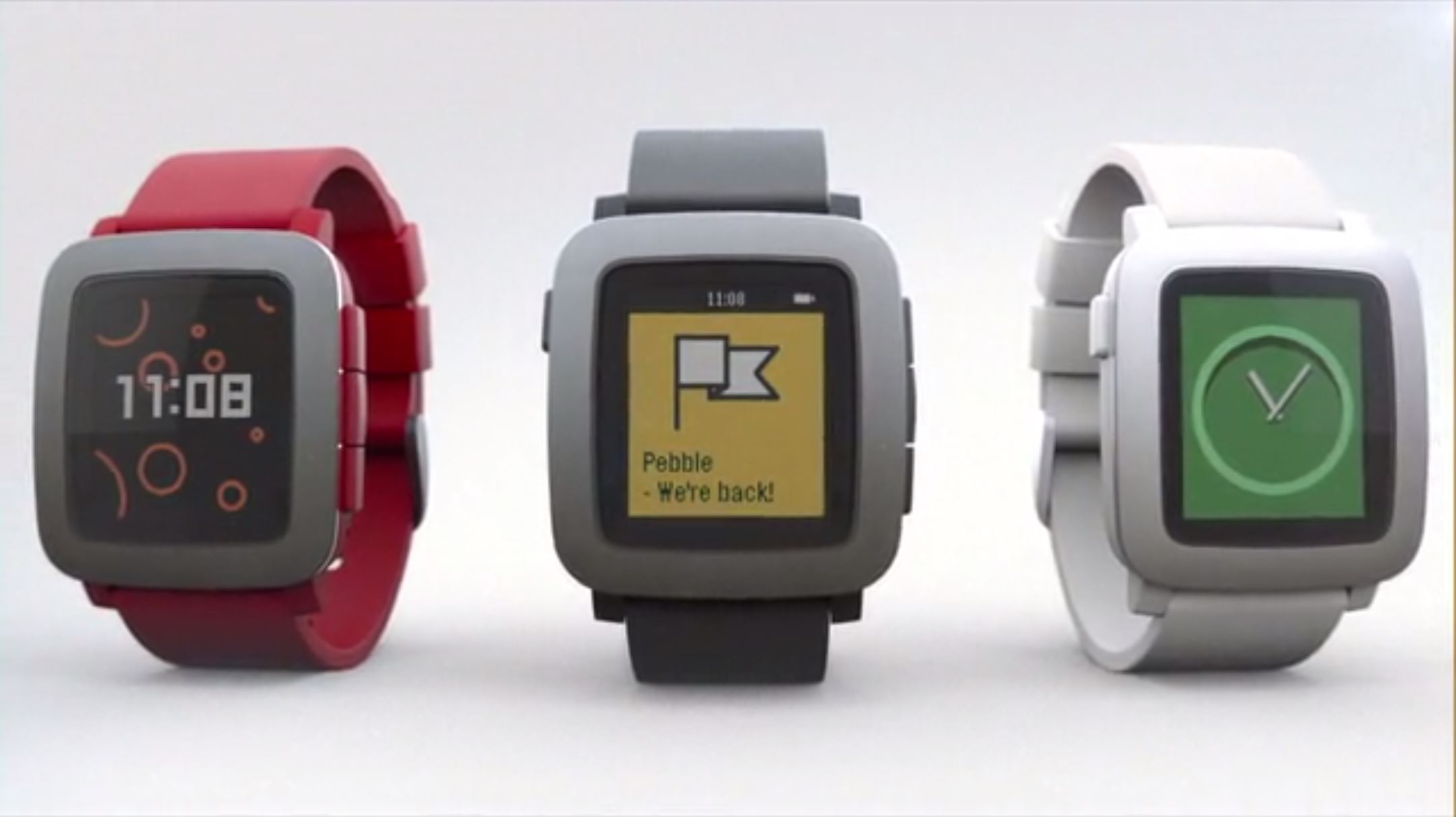 Pebble Announces a New Smartwatch With a Color Screen ...
