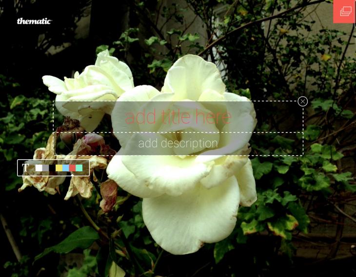 Στιγμιότυπο οθόνης 2015 01 31 στις 05/02/22 πμ 730x569 Γνωρίστε θεματική, μια web-based εργαλείο οπτικής αφήγησης που γεμίζει την οθόνη σας με τα γραφικά καλοσύνη