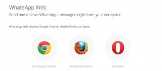 WhatsApp browsers