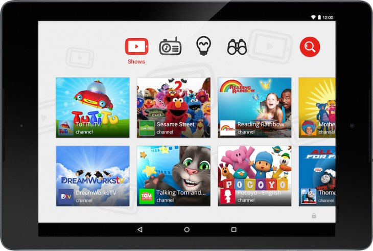 YouTube Kids Screenshot 730x491 Google launches YouTube Kids on Android and iOS