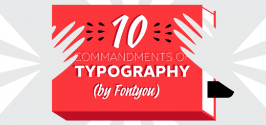 commandments of typography